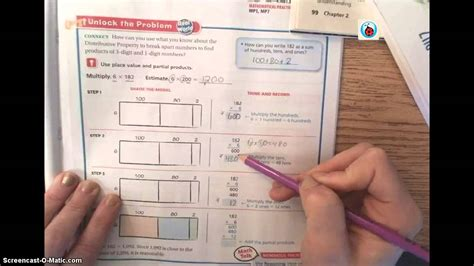 4th Grade Go Math Answer Key  5th Grade Go Math Unit 2 Lesson 4 Homework Youtubegrade 7