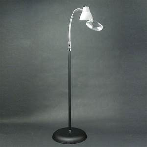 big eye floor lamp and 2x magnifier with gooseneck With gooseneck floor lamp with magnifier