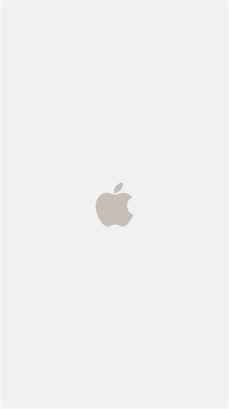 White Wallpaper Iphone 8 Plus by As69 Iphone7 Apple Logo White Gold Illustration Wallpaper
