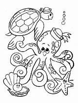 Mycoloring Krake sketch template