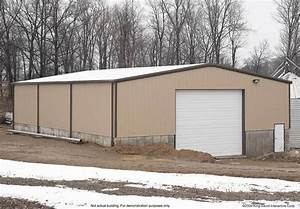 Thunderbolt steel buildings 3039 x 6039 x 1339 steel building for 30 x 60 steel building