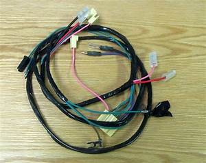 1958 59 Chevy Truck Starter Wire Harness 6 Cyl With Manual