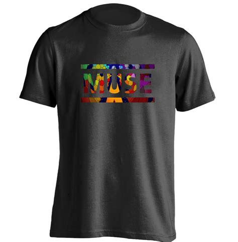 space rock band muse mens womens personalized t shirt custom t shirt in t shirts from s