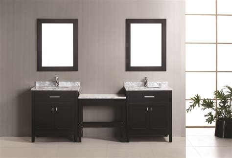 london  single sink vanity set  espresso