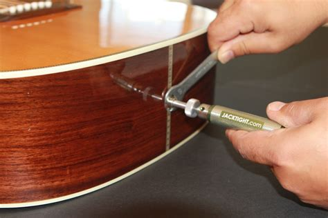 jacktight acoustic guitar repair kit tighten loose  pin