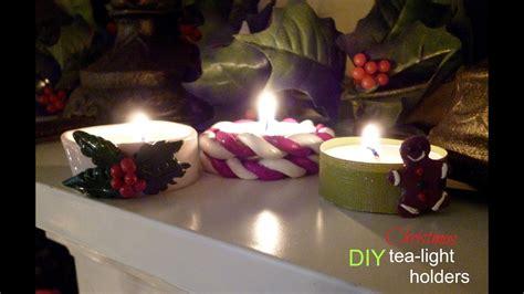 diy christmas tea light holders youtube