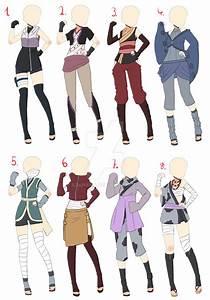 [Closed]Naruto Outfit adopt batch 1 by AzaHana.deviantart ...