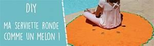Serviette Ronde Eponge : tuto ~ Teatrodelosmanantiales.com Idées de Décoration