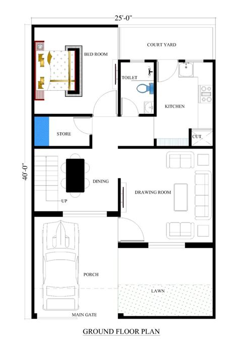 house layout 25x40 house plans for your house house plans