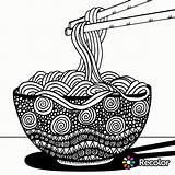 Spaghetti Coloring Pasta Mandala Noodles Getcolorings Coloringpagesfortoddlers Printable Recolor Colorings Adults sketch template