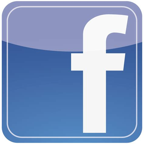 Facebook F Icon Reflection Vector Logo