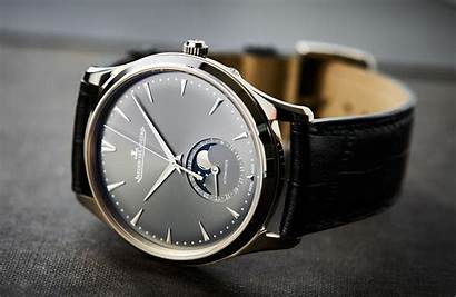 Thin Ultra Moon Master Jaeger Lecoultre Gold