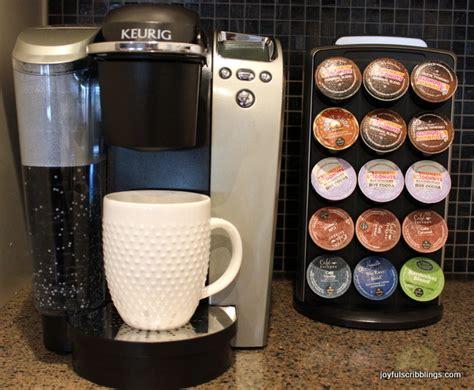 Keurig Coffee Maker   JOYFUL scribblings