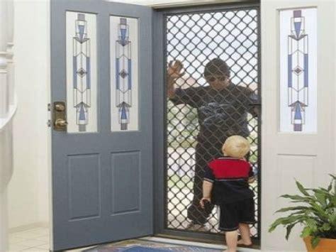 Large glass doors residential, security screen doors titan