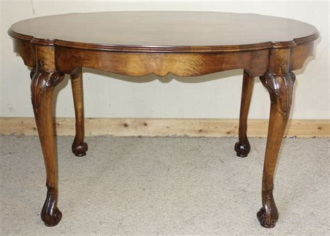 how tall is a coffee table walnut tall coffee table centre table antiques atlas