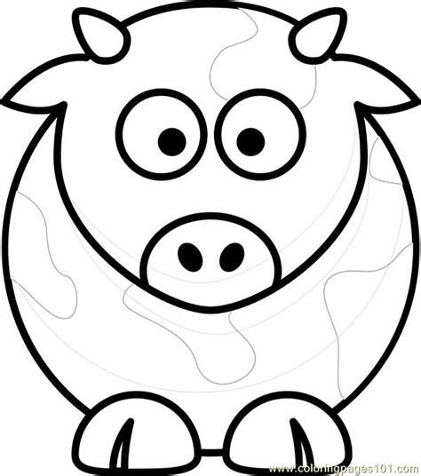 stained glass window cow coloring page free coloring pages on