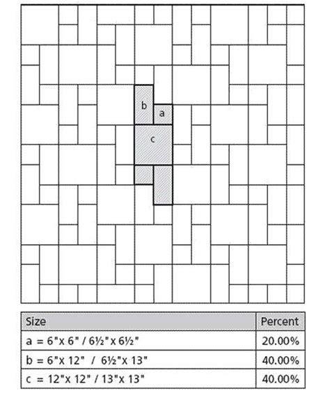 three size tile patterns tile38 three tile modular pattern layout gif jpg 500 215 600 ręcznie robione kafle handmade