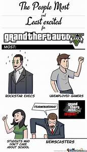 Most Excited People For Gta V by menicucciix - Meme Center