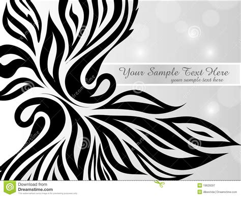 Abstract Vector Black And White by Vector Abstract Black And White Background Stock Vector