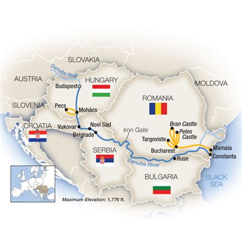 River Boat Cruises Europe by European River Cruises Tauck
