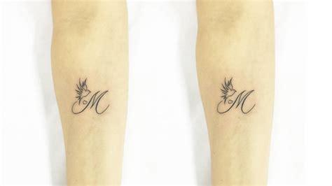 Tatouage Lettre E