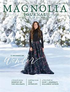 Joanna Gaines' Magnolia Journal Cover Shoot in the Snow