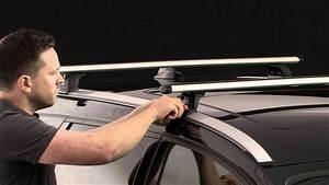 Barre De Toit Longitudinale Universelle : barre de toit thule avec rapid system 753 par autokoo youtube ~ Medecine-chirurgie-esthetiques.com Avis de Voitures