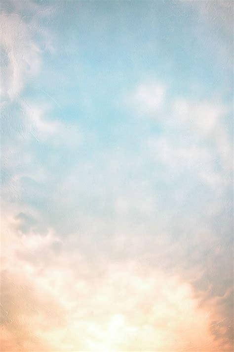 cloud murals  behance clouds pastel clouds tree