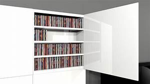 Range Cd Design : meubles rangement pour cd ~ Teatrodelosmanantiales.com Idées de Décoration