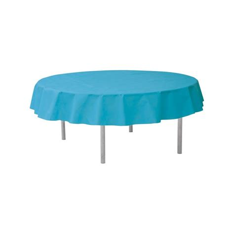 nappe ronde jetable 240 cm turquoise drag 233 e d amour