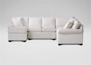 Bennett roll arm sectional with chaise ethan allen for Ethan allen sectional sofa with chaise
