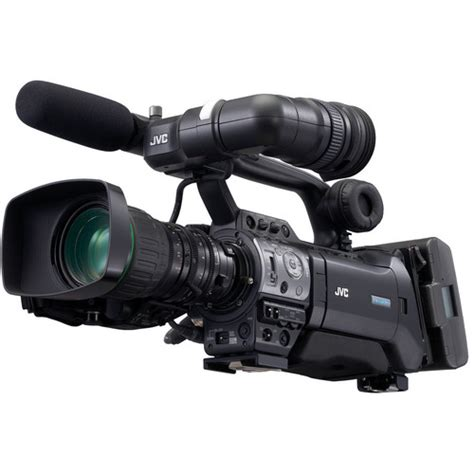 Jvc Gy-hm750 Prohd Compact Shoulder Camcorder W/canon Gy
