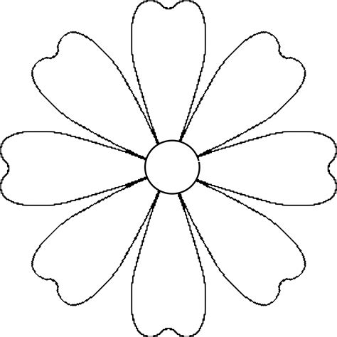 free paper flower petal templates 7 best images of paper flower petal template printable printable flower petal template