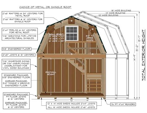 pdf woodwork 2 story storage building plans download diy