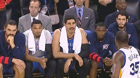 Oklahoma City Thunder Bench Talks Sh*t To Kevin Durant