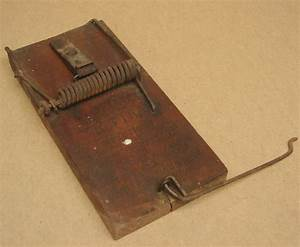 Vintage Sure Catch Rat Trap Lovell Manufacturing Co Erie