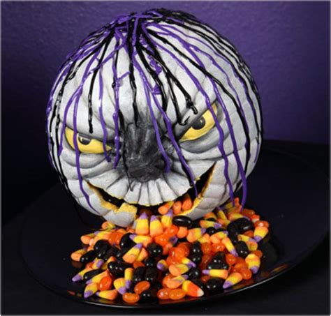 pumpkin design ideas without carving top 10 diy halloween centerpieces made with pumpkins top inspired
