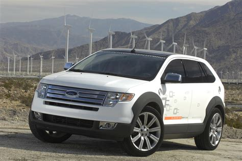2007 Ford Edge Hyseries Plug-in Hybrid Pictures, Photos