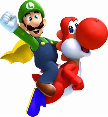 Luigi Yoshi Mario Cape Super Bros 3d