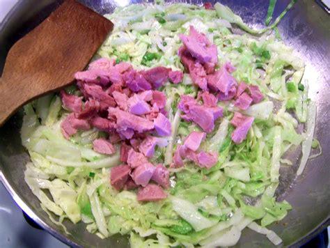 cottage ham thekitchencookie stir fried cabbage w cottage ham
