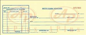 Petty Cash Vouchers And Forms