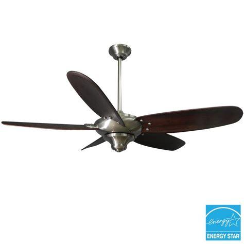 Altura 56 Ceiling Fan Light Kit by Hton Bay Altura 56 In Brushed Nickel Ceiling Fan