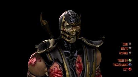 Mortal Kombat 9 Scorpions Character Bio Youtube