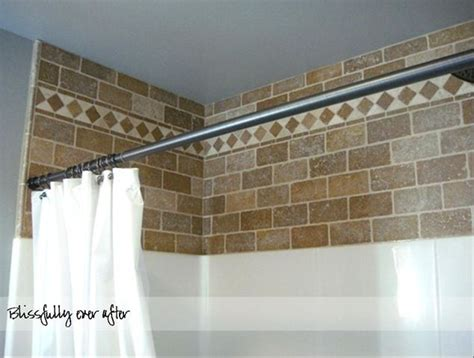 idea for sprucing up wall space between shower insert