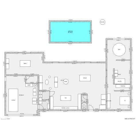 plan maison avec piscine interieure tours 12 iserver pro