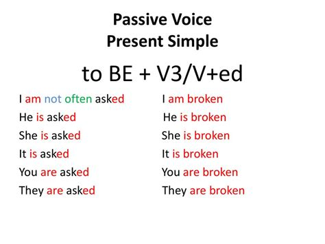 Passive Voice Present Simple  презентация онлайн