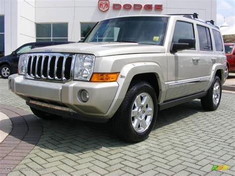 2007 light graystone pearl jeep commander limited 11892360 gtcarlot car color galleries