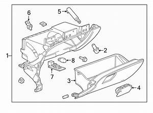 Chevrolet Impala Glove Box Support