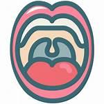 Dental Dentist Icon Teeth Tongue Oral Hygiene