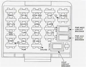 1996 Pontiac Grand Am Fuse Box Diagram